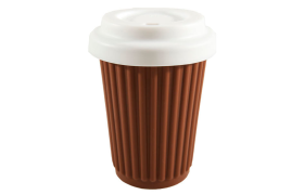 Reusable Coffee Cup (Choc)