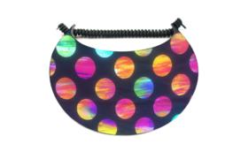 Sun Visor - Circles of Colour2