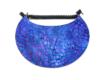 Sun Visor – Spotty Blue Purple